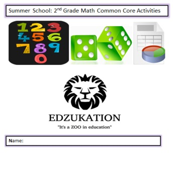Common Core 2nd Second Grade Math Workbook