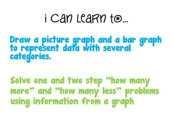Common Core 3.MD.3 Problem Solving with Graphs