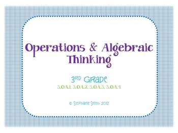 Common Core 3.OA.1-4 Multiplication & Division