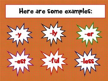 Common Core 3rd, 4th Super Suffixes PPT CCSS L3.1, 3.2, 4.1, 4.2