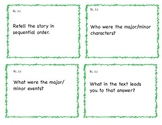 Common Core 3rd Grade ELA Question Cards