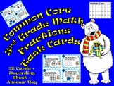 Common Core 3rd Grade-Fractions Task Cards-Number Line, Comparing, Ordering