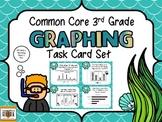 Common Core 3rd Grade-Graphing/Data Interpretation Task Card Kit