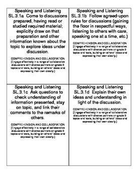 Common Core State Standards for ELA & Math (3rd Grade)