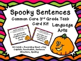 Common Core 3rd Grade-Language Arts- Editing Sentences Task Card Kit-