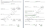 Common Core 3rd Grade Math Fluency Quiz
