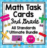 3rd Grade Math Task Cards - 3rd Grade All Math Standards Bundle