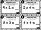 Common Core 3rd Grade-Modeling Multiplication Task Card Kit-Multiplication Webs!