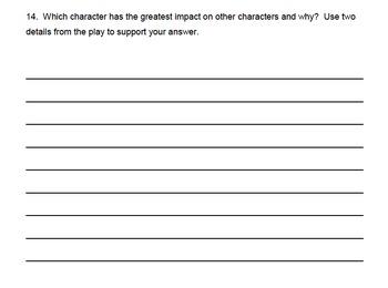 Common Core 3rd Grade Reading Assessment