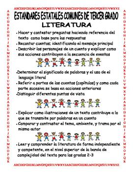 Common Core 3rd Grade Spanish