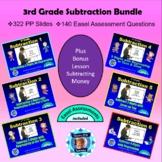 3rd Grade Subtraction Bundle - Seven Powerpoint Lessons -