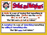 Mighty Metaphors, Super Similes Interactive PPT CCSS Grade