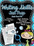 Common Core 3rd Grade- Writing Skills Test Prep Task Card Kit