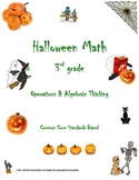 Common Core 3rd grade Halloween Pack (3.OA.9 Operations an