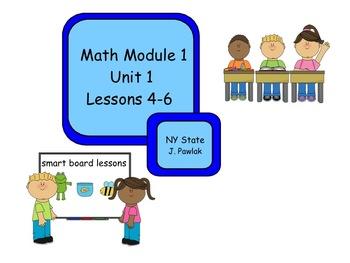 Common Core 3rd grade math NY module 1 lessons 4 - 6