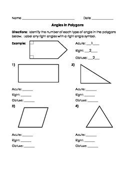 Fourth Grade Geometry Activities