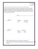 Common Core 4.NBT.6 Assessment Form A