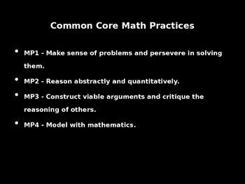 Common Core 4th, 5th, 6th grade math tasks