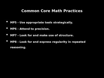 Common Core 4th, 5th, 6th grade math tasks