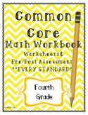 1 Common Core 4th (Fourth) Grade Workbook- Worksheets and