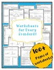 *WorkBook 4th Grade Common Core- Worksheets and Assessments