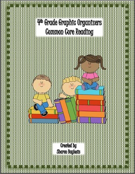 Common Core 4th Grade ELA Literacy Graphic Organizers and Posters