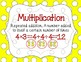 CCSS 4th Grade Numbers & Operations in Base 10 Word Wall Posters & Flash Cards