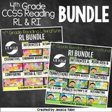 4th Grade Reading: Informational and Literature Standards Bundle for Common Core
