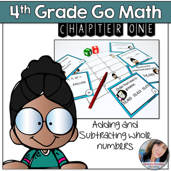 Chapter One Estimation/Place Value Math Scoot Game