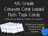 Common Core 4th Grade Task Cards - Operations & Algebraic
