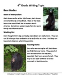 LEAP 2025 Test Prep Fast Facts Writing Prompt:  Black Bears