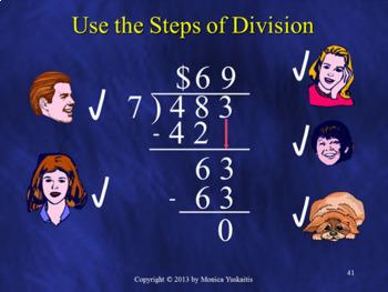 Common Core 4th - Long Division Bundle - 8 Lessons - 359 Slides