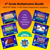 4th Grade Multiplication Bundle - 7 Powerpoint Lessons - 4