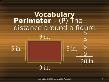 Common Core 4th - Perimeter