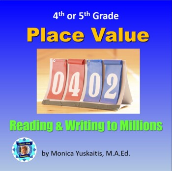 Numbers in the millions teaching resources teachers pay teachers common core 4th place value 2 read numbers to a million fandeluxe Image collections