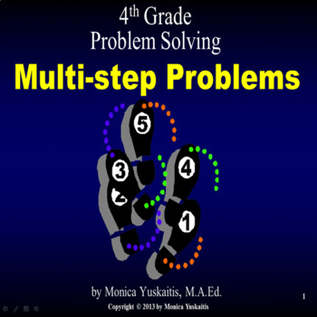 Common Core 4th - Problem Solving - Multiple-Step