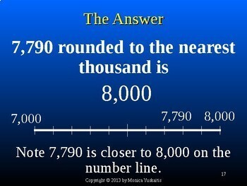 Common Core 4th - Rounding up to 100,000