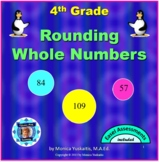 4th Grade Rounding up to 100,000 Powerpoint Lesson