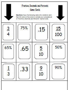 Math Games and Centers For Upper Elementary Students! Easy Prep