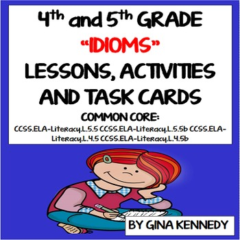 Idiom Examples Worksheets & Teaching Resources   TpT