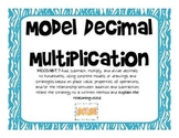 Common Core 5.NBT.7 - Model Decimal Multiplication