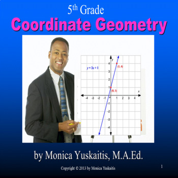 Common Core 5th - Coordinate Geometry and Ordered Pairs
