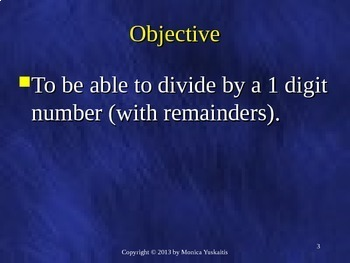 Common Core 5th - Division 1 - Dividing 3 Digits by 1 Digit