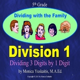 5th Grade Division 1 - Dividing 3 Digits by 1 Digit Powerpoint Lesson