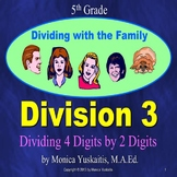 5th Grade Division 3 - Dividing 4 Digits by 2 Digits Power