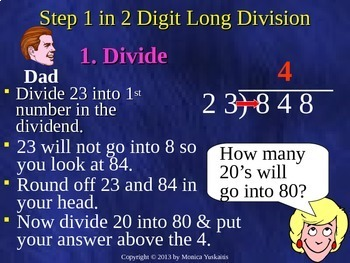 Common Core 5th - Division 4 - Determining Quotient Estimates
