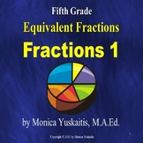 5th Grade Fractions 1 - Equivalent Fractions Powerpoint Lesson