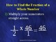Common Core 5th - Fractions 14 - Multiplication of Fractio