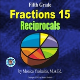 5th Grade Fractions 19 - Reciprocals Powerpoint Lesson
