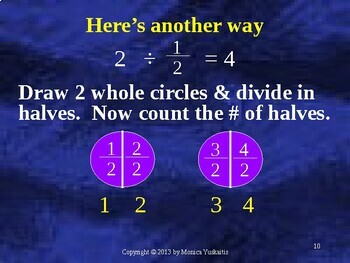 Common Core 5th - Fractions 20 - Division of Fractions